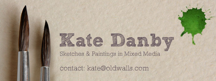 Kate Danby | Sketches & Paintings in Mixed Media